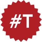 Poner la #t de tasas en twitter